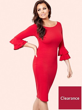 jessica-wright-jessica-wright-izzie-frill-sleeve-bodycon-dress