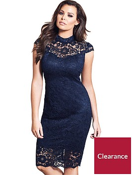 jessica-wright-collette-high-neck-lace-midi-dress-navy