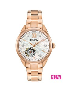 bulova-bulova-automatic-diamond-dial-open-appature-mop-dial-ladies-watch