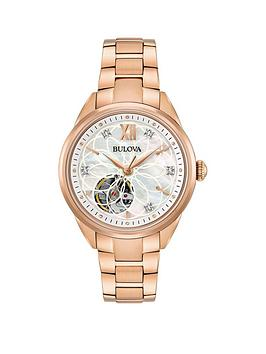 bulova-bulova-automatic-diamond-dial-open-appature-mop-dial-ladies-watch