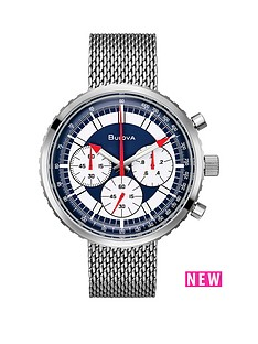 bulova-bulova-blue-dial-chronograph-mesh-strap-mens-watch