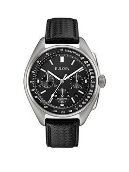bulova-bulova-lunar-pilot-black-multi-dial-black-leather-strap-mes-watch-with-free-nato-strap