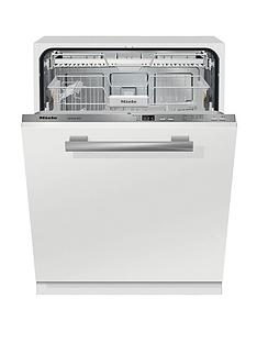 Miele G4263SCVi  Active 14-Place Full Size Integrated Dishwasher - Clean Steel