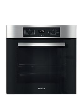 miele-h2265-bnbspbuilt-in-electric-single-oven-clean-steel