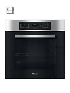miele-h-2267-bpnbspbuilt-in-electric-single-oven-with-flexiclipnbspfully-telescopic-runners-clean-steel