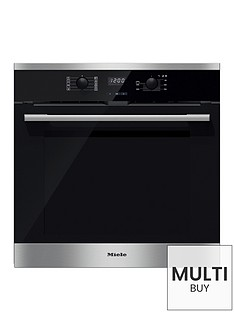 miele-h-2566-bp-electric-single-oven-with-pyrolyticnbspcleaning-clean-steel