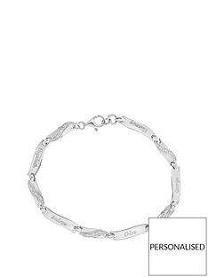 the-love-silver-collection-sterling-silver-and-cz-family-name-bracelet