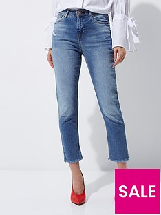 river-island-bella-straight-jeans