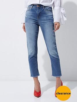 river-island-bella-straight-jeans