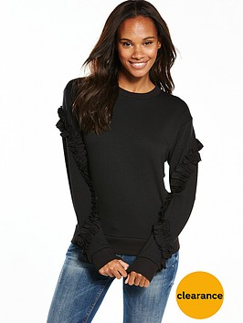 v-by-very-ruffle-woven-sweat-top