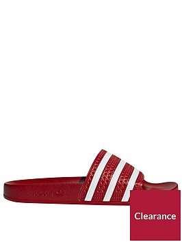 adidas-originals-adilette-slider-redwhitenbsp