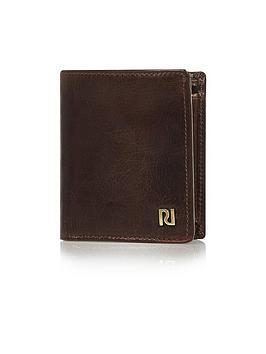 river-island-mens-oily-3-fold-wallet