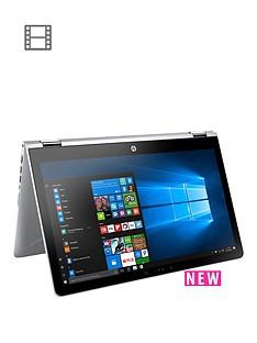 hp-pavilion-x360-15-br013nanbspintelreg-pentiumregnbsp4gb-ramnbsp1tb-hard-drive-156in-touchscreen-2-in-1-laptop-silver