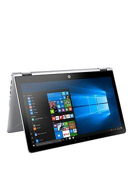 hp-pavilion-x360-15-br013nanbspintelreg-pentiumregnbsp4gbnbspramnbsp1tbnbsphard-drive-156-inchnbsptouchscreen-2-in-1-laptop-silver
