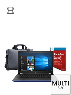 hp-15-bs086nanbspintel-pentium-8gb-ram-1tb-hard-drive-156-inch-laptop-withnbspmcafeenbspinternet-security-and-topload-casenbsp--blue
