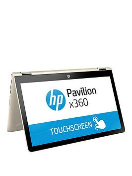Image of Hp Pavilion X360 15-Br018Na Intel&Reg; Pentium&Reg;, 4Gb Ram, 1Tb Hard Drive 15.6 Inch Touchscreen 2-In-1 Laptop - Gold - Laptop Only