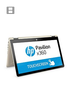 hp-pavilion-x360-15-br003nanbspintelreg-coretrade-i3nbsp8gbnbspram-1tbnbsphard-drive-156in-touchscreen-2-in-1-laptop-gold