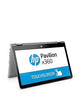 Image of Hp Pavilion X360 14-Ba016Na, Intel&Reg; Core&Trade; I3, 8Gb Ram, 128Gb Ssd, 14 Inch Full Hd Touchscreen 2-In-1 Laptop - Silver - Laptop With Microsoft Office 365 Home