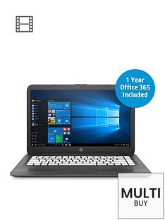 hp-stream-14-ax005nanbspintelreg-celeronregnbsp4gbnbspramnbsp32gbnbspstoragenbsp14-inch-laptop-with-office-365-personal-and-optional-mcafee-livesafe-grey