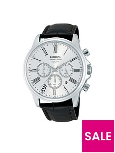 lorus-lorus-stainless-steel-chronograph-brown-leather-strap-mens-watch