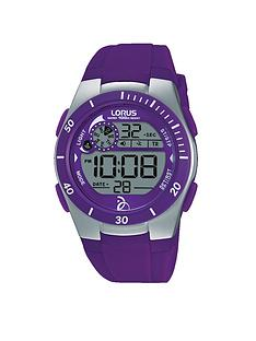 lorus-digital-purple-silicone-strap-kids-watch
