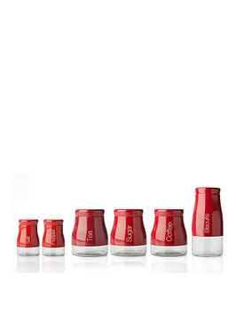 sabichi-kitchen-canister-6-piece-set-red
