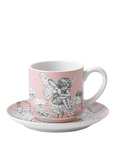 flower-fairies-set-2-pink-and-yellow-cup-and-saucer