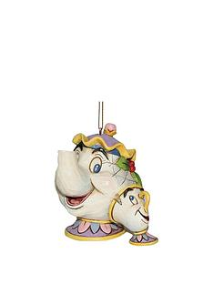 disney-beauty-and-the-beast-mrs-potts-amp-chip-hanging-christmas-treenbspdecoration