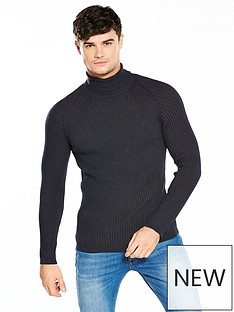 river-island-muscle-fit-roll-neck