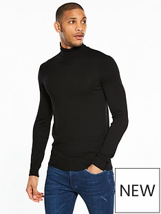 river-island-muscle-fit-roll-neck-jumper