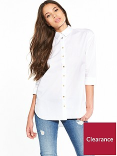 river-island-tie-back-shirt