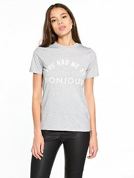 river-island-bonjour-t-shirt
