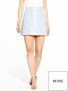 ri-petite-ri-petite-vinyl-mini-skirt