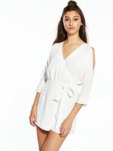 river-island-cold-shoulder-playsuit
