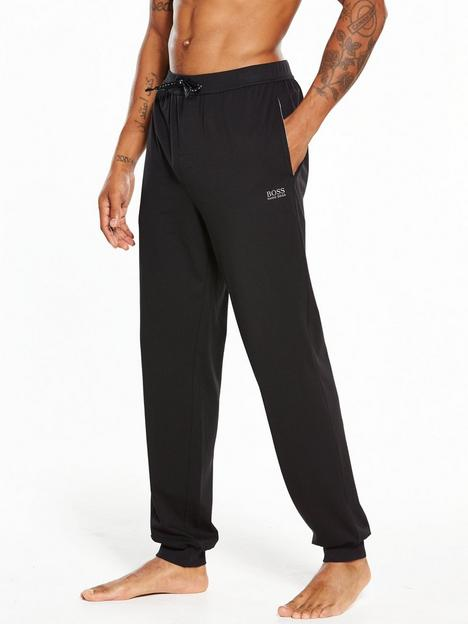 boss-bodywear-cuffed-lounge-pant-black