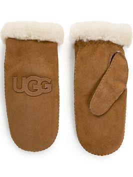 ugg-sheepskin-heritage-logo-mitten--camel