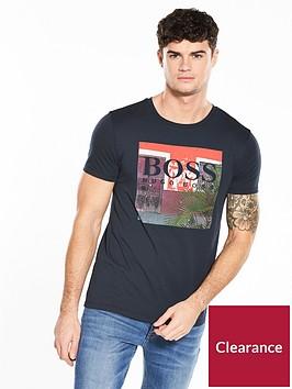 boss-orange-logo-graphic-t-shirt
