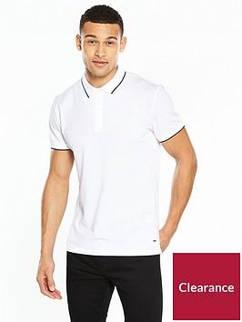 boss-textured-collar-polo-shirt
