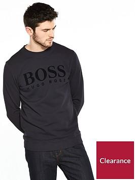 boss-logo-sweat-top