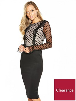 ax-paris-lace-sleeve-bodycon-dress