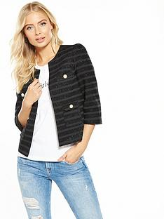 v-by-very-metallic-stripe-crop-jacket