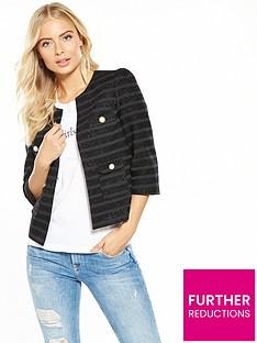 v-by-very-metallic-stripe-crop-jacket