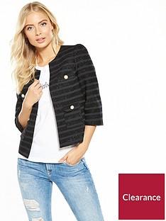 v-by-very-metallic-striped-pearl-crop-jacket-black