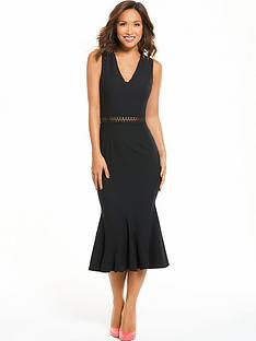 myleene-klass-lace-trim-midi-dress