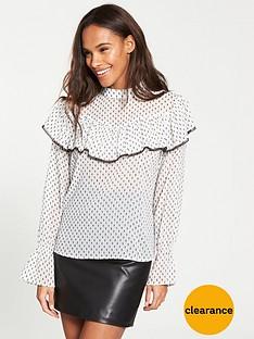 v-by-very-lace-trim-dobby-blouse-ivory-sport