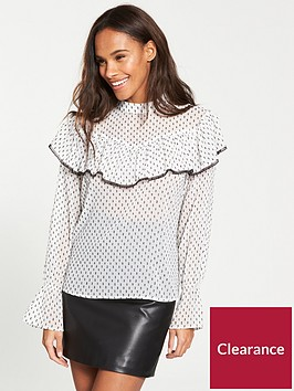 v-by-very-lace-trim-dobby-blouse-ivory-sport