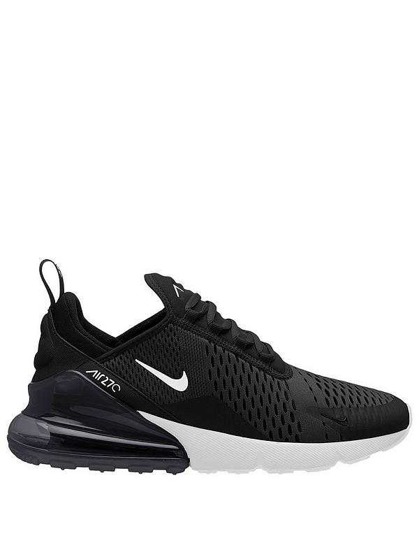 Siesta insondable filósofo  Nike Air Max 270 - Black/White | very.co.uk