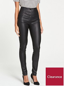 v-by-very-high-waisted-coated-skinny-trouser-black
