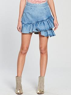 v-by-very-ruffle-denim-skirt-mid-wash