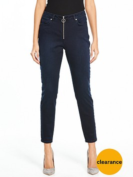 v-by-very-zip-front-luxe-skinny